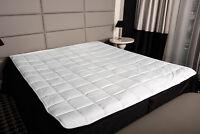 Matratzenauflage Schonbezug Unterbett Matratzenschutz Matratzenschoner Topper
