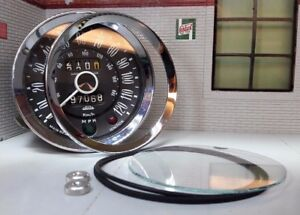 Jaeger Smiths Gauge Reconditioning Glass Seal Bezel Kit Triumph Spitfire Vitesse