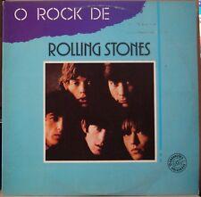 """ROLLING STONES 1984 """"O Rock De"""" UNIQUE! Promo DOUBLE SET 2 Nm LP BRAZIL"""