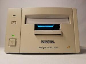 Minolta Dimage Scan Multi F 3000 Japan 120 Negative Slide Filmscanner Descrption