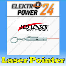 Ledlenser Zweibrüder Laser Pointer V9 rot 650nm Robust ganz Metall Gehäuse 7630