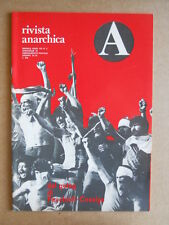 Rivista Anarchica n°2 1978 Gulag le supercarceri di Cossiga  [C89]