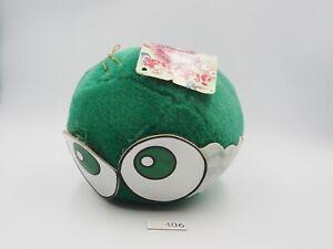 "Puyo Puyo Compile B2406 Green Puyo Ball Suction SEGA 1994 Plush 6"" Doll Japan"