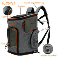 Pet Carrier Backpack Carry Cat Dog Puppy Backpack Travel Portable Bag