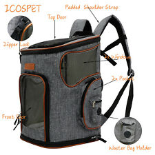 ​Pet Carrier Backpack Carry Cat Dog Puppy Backpack Travel Portable Bag