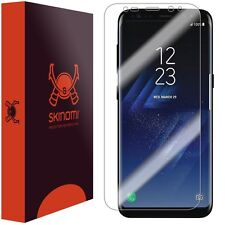 Skinomi Clear Screen Protector For Samsung Galaxy S8+ Full Screen MAX COVERAGE