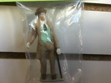 G SCALE FIGURE 11818F - MAN WITH BROWN HAT AND LIGHT BLUE VEST