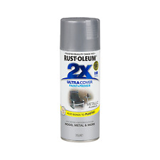 Rust-Oleum 312g Ultra Cover 2X Metallic Aluminium Spray Paint