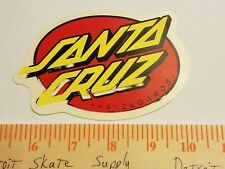VTG 80's SANTA CRUZ LARGE DOT JIM PHILLIPS MISPRINT NOS SKATEBOARD DECK STICKER