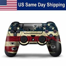 Custom Protect Skin for Playstation 4 Controller PS4 Gamepad Cover Decal Flag