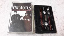 THE 4 OF US - Songs For The Tempted Cassette 1989 CBS