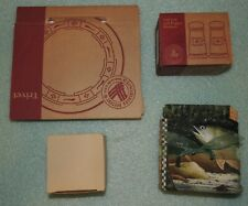 Longaberger Tall Red Salt & Pepper Shakers 30550/ Trivet 32298/ Candle /Placemat