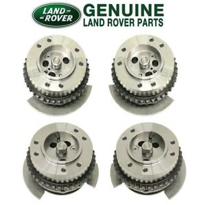 For Land Rover LR4 Range Rover Set of 2 Intake & 2 Exhaust Camshaft Adjusters