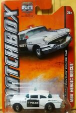 Matchbox 2013 '56 Buick Century Police Car 18/120 MBX Heroic Rescue 60th MOMC