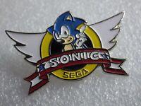 Pin's vintage épinglette pins collector Personnage SONIC SEGA  PB084