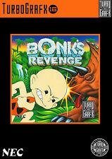 Bonk'S REVENGE Turbo Grafx 16 incorniciato stampa (Man Grotta Foto GAME GIOCO ART)