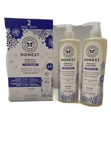 2-Pack Honest Shampoo + Body Wash Truly Calming Lavender 17 FL OZ Bottles NIB