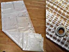 TELO TELONE OCCHIELLATO MT 1,5X3,0 MT TRASPARENTE RETINATO IN PVC PE GR.160/MQ.