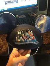 D60 Disneyland 60th Anniversary Make A Wish Foundation Mickey Ears - SOLD OUT!!!