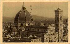 Firenze Florenz Italien AK 1929 La Cattedrale vista dalla cupola di S. Lorenzo