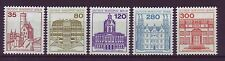 Briefmarken aus Berlin (1980-1990) mit Bauwerk-Motiv