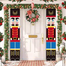 Nutcracker Christmas Decoration Soldier Model Nutcracker Banner Home  Decor
