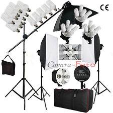 Bps 2850w kit de Iluminacion continua 3 focos estudio Fuiton Tripodes cajas