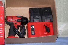 LIKE NEW  Snap On 18V Lithium Cordless 3/8 Drive Impact Wrench 2 Batteries W/BOX