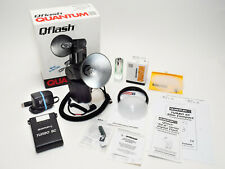 Quantum Qflash T5d-R with Turbo Sc Battery, Qttl adapter, and accessories