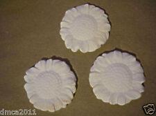 Set of 3 Flat Sunflower slump draping kiln glass molds