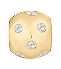 LOVELINKS BY PASTICHE SPACER LINK-GOLD PLATED SILVER & CUBIC ZIRCONIA  TT209CZG
