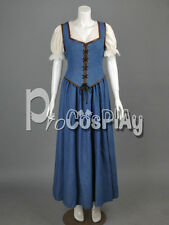 Once Upon a Time Belle Dress Cosplay Costume  mp000986
