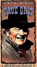 True Grit  VHS Very Good John Wayne Glen Campbell