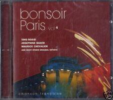 AA.VV.BONSOIR PARIS chanson française vol.4 CD Sealed