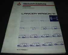 Werkstatthandbuch Mitsubishi Lancer Wagon Getriebe Motor Elektrik ab 1990!