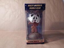 "Angry Birds ""Star Wars Wacky Wobbler Stormtrooper Pig Bobble-Head"";NIB/Free Ship"