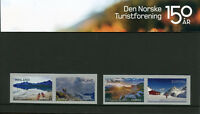 Norway 2018 MNH Trekking Association 4v S/A Pres Pack Mountains Tourism Stamps