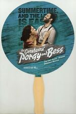 The Gershwins Porgy and Bess Promotional Hand Fan 2014 National Tour Los Angeles