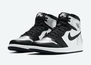 "Nike Air Jordan 1 OG High ""Silver Toe"" Men size 9.5 - Women size 11 In Hand"