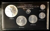 2018 5pc. Silver Mexican Libertad BU coins  Treasure Coins of Mexico™