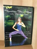 FERTILITY FLOW YOGA~MERCEDES NGOH (VINYASA FLOW)~ALL PAL REGIONS RARE AS NEW DVD