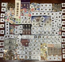 Huge Lot 500+ Coins/Stamp~Silver Note$/PCGS/Mercury/IKE/Buffalo/Indian/WL/Proof$