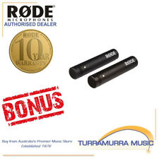 Rode M5 Matched Pair condenser microphones with BONUS FREE RODE GIFT