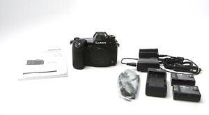 Panasonic Lumix G9 20.3 MP Digital Camera - Black (Body Only) w/ 2 Extra Battery