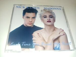 Madonna/Nick Kamen each time you break my heart 12 tracks Dj Cd maxi Single
