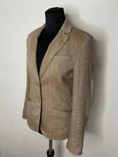 Brunello Cucinelli Women's Linen Blazer Suit Jacket Size S