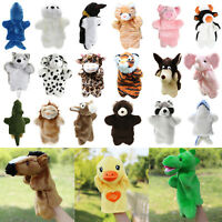 Animal Hand Glove Puppet Plush Puppets Kids Children Developmental Role Play Toy