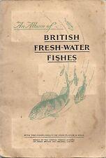 John Player 1934 Fresh Water Fishes with album BV $35 54/62 fish BV $135+  $23