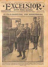Generalfeldmarschall Paul von Hindenburg Deutsches Heer Warta Poland WWI 1914