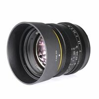 Kamlan 50mm F1.1 APS-C Large Aperture Manual Focus Lens for Sony E-Mount camera